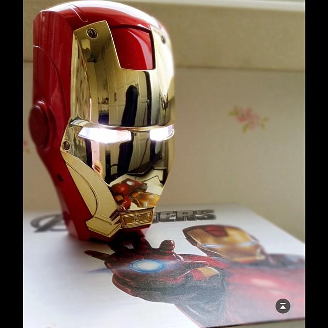 Marvel Avengers Iron Man Dual PortsMobile Power Bank Powerbank 6000mAh