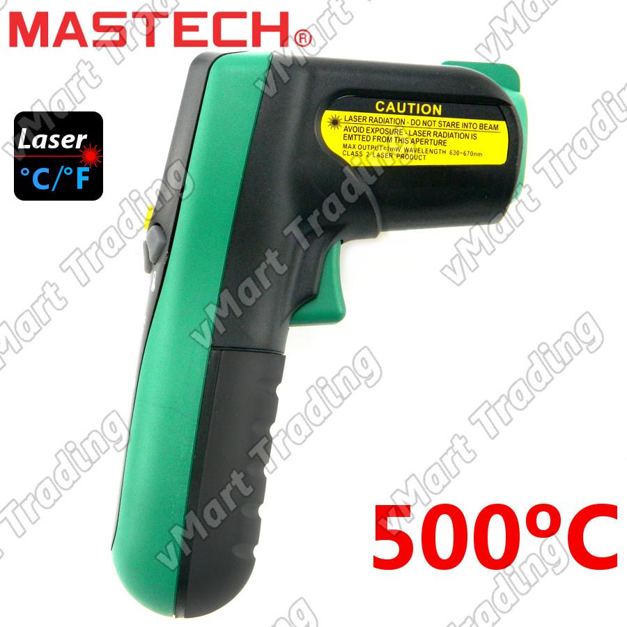 Mastech MS6522B Industrial Non-Contact Infrared Thermometer