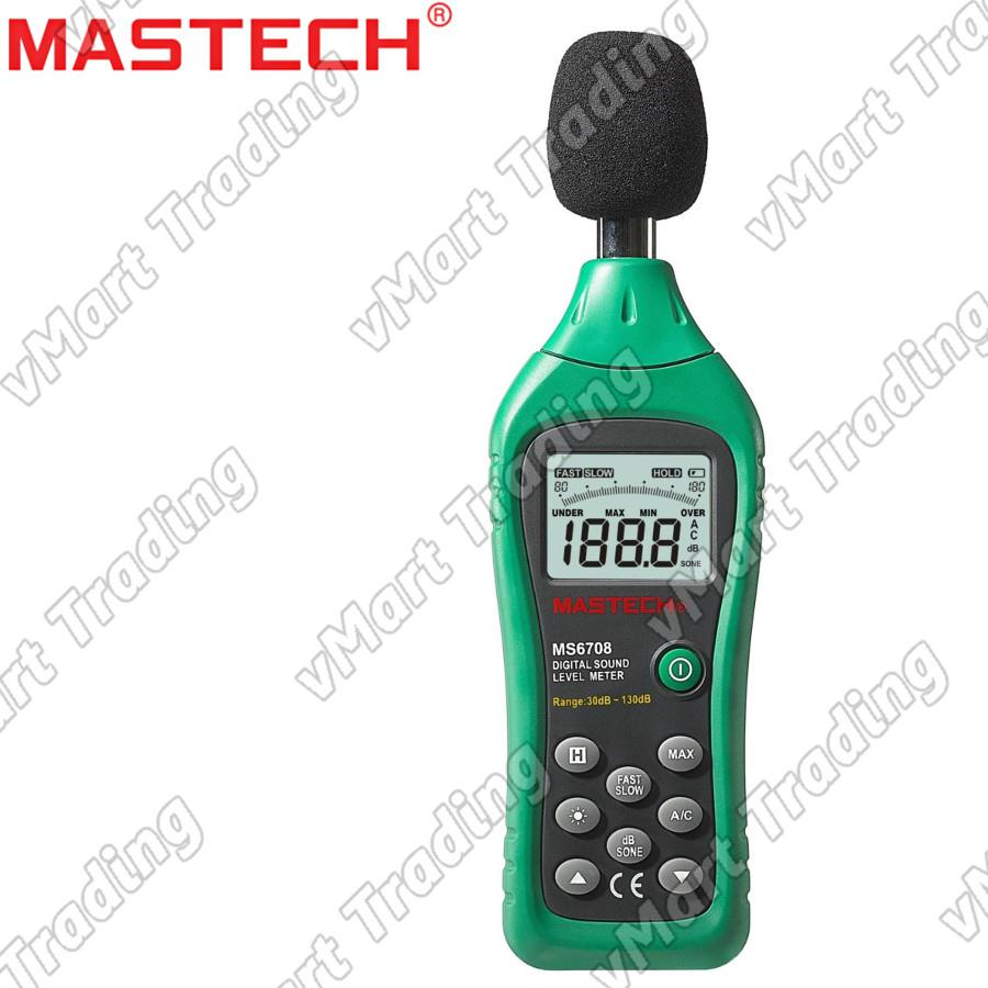 MASTECH MS6708 Professional Sound Level Meter