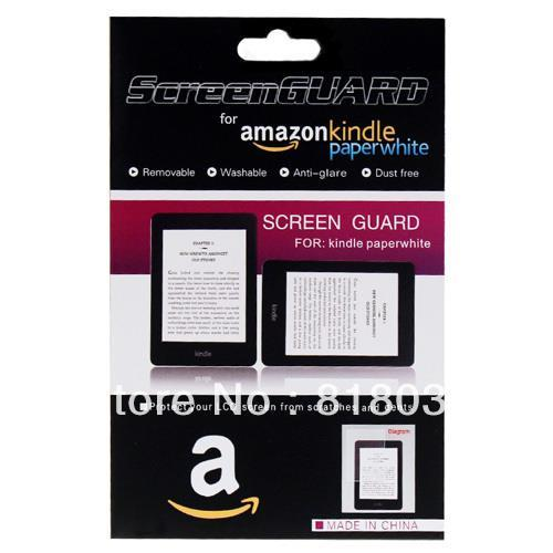 Matte Screen Protector for Kindle Paperwhite 1, 2, Kindle 4, 5