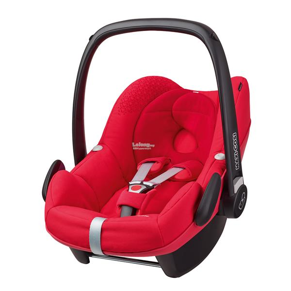Maxi Cosi PEBBLE 2016 Infant Car Seat Carrier color Origami Red