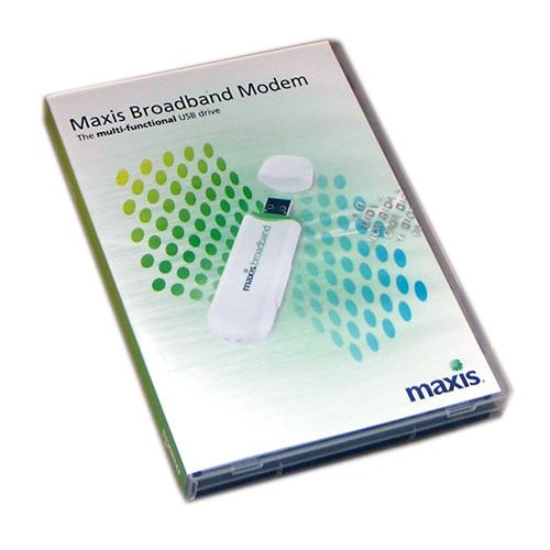 MAXIS BROADBAND MODEM THE MULTI-FUNCTIONAL USB DRIVE