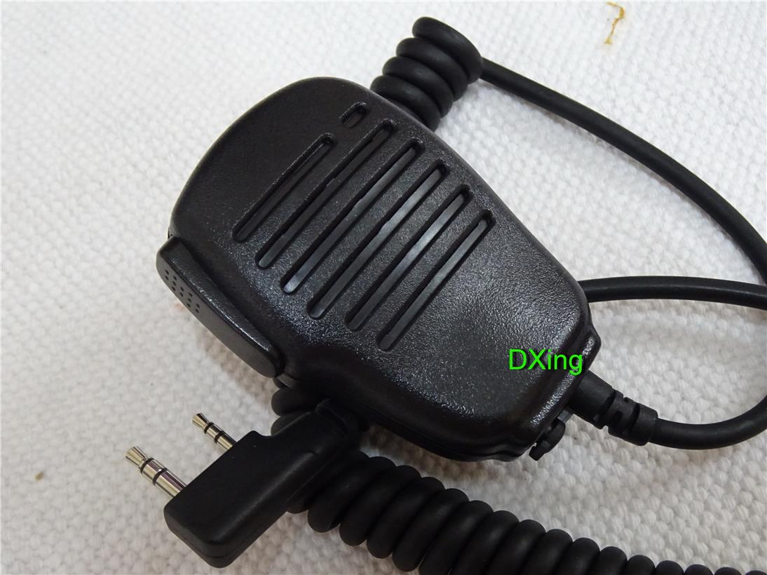 Maxton 2pin Microphone Speaker Mic for # tyt puxing wouxun kenwood #