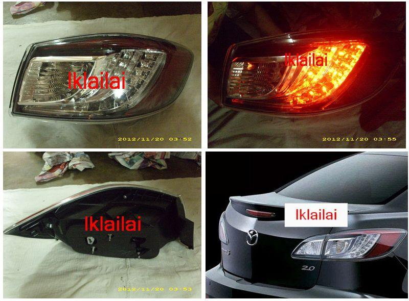MAZDA 3 '11  LED Tail Lamp Original Look [1-pc Body]