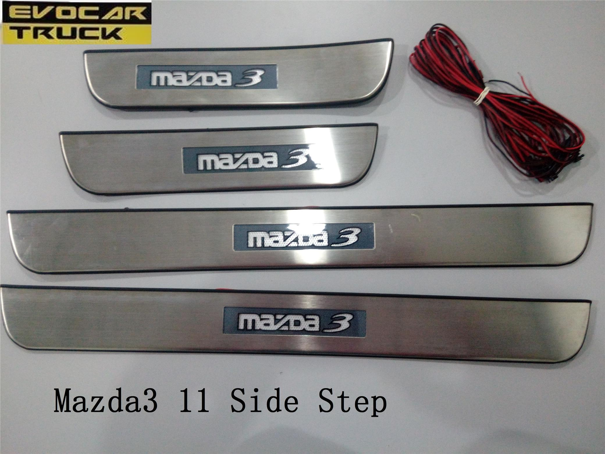 MAZDA3 LED DOOR SIDE STEP