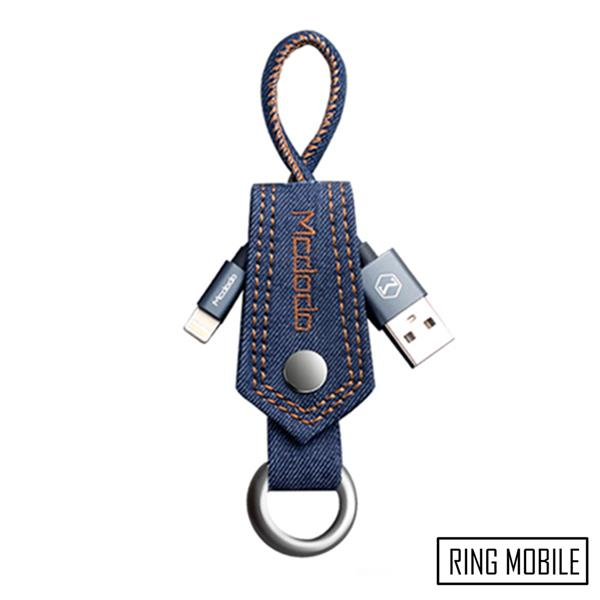 Mcdodo CA-1730 Jeans Key Ring Lightning Cable