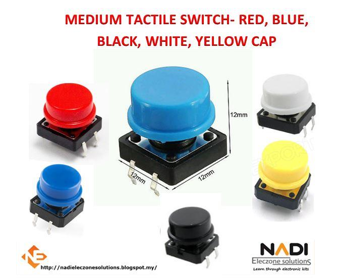 Medium Size Tactile Switch