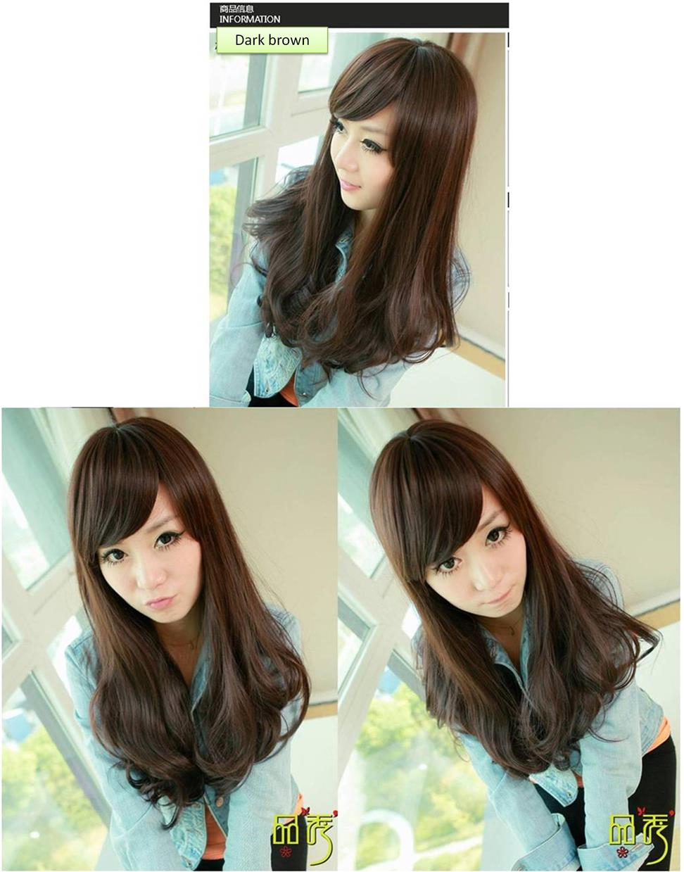 Medium wig ds5/ready stock/rambut palsu