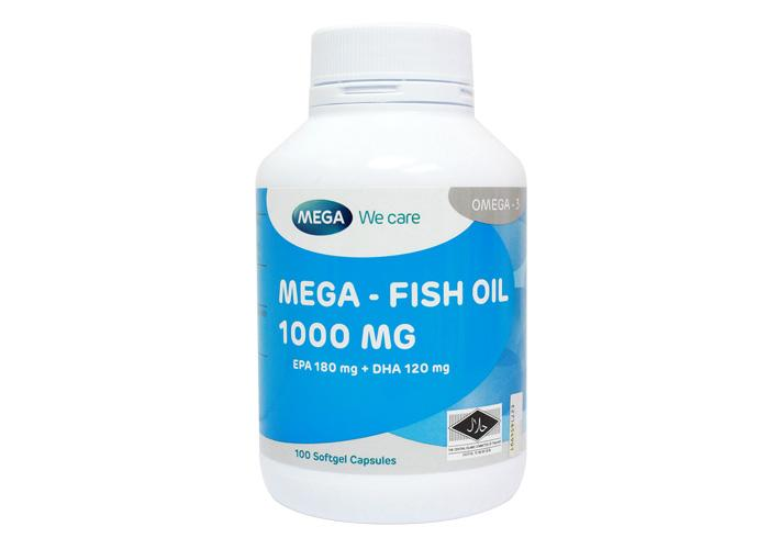 Mega Fish Oil 1000mg 100s