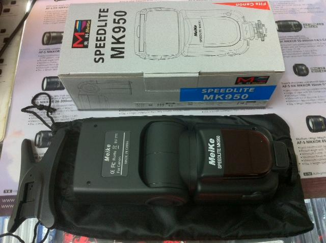 Meike  MK-950 mark ll Speedlite Flash Light Canon 6D 60D 50D 600D 70D