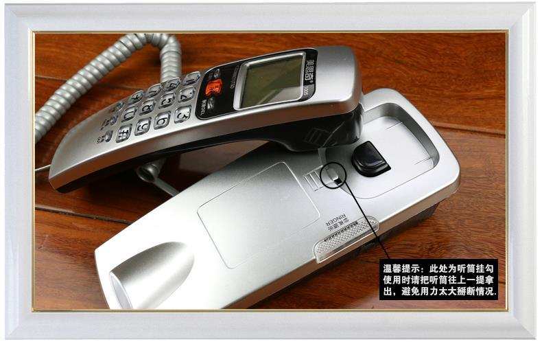 Meisiqi Hanging Wall Corded Phone with Caller ID