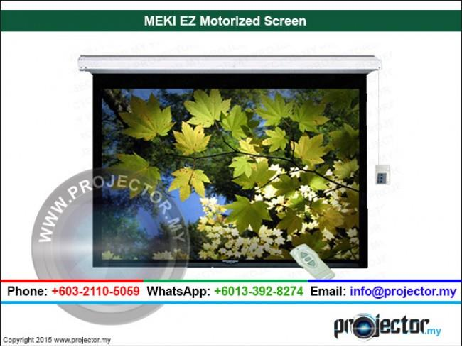 "MEKI EZ MOTORIZED PROJECTION SCREEN 108"" x 144"" (180""D)"