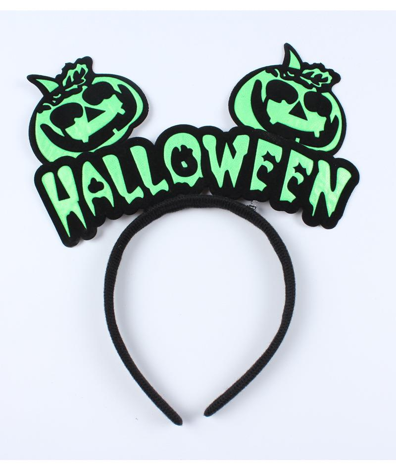 Melody / Halloween Hairband Pumpkin