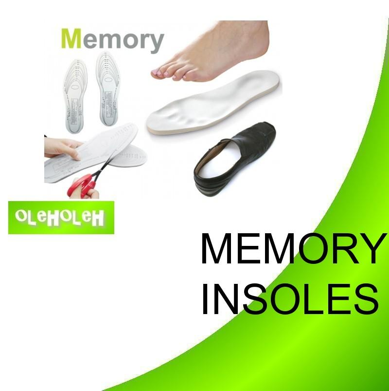 Memory Foam Shoe Insoles for All Sizes 1pair Insole