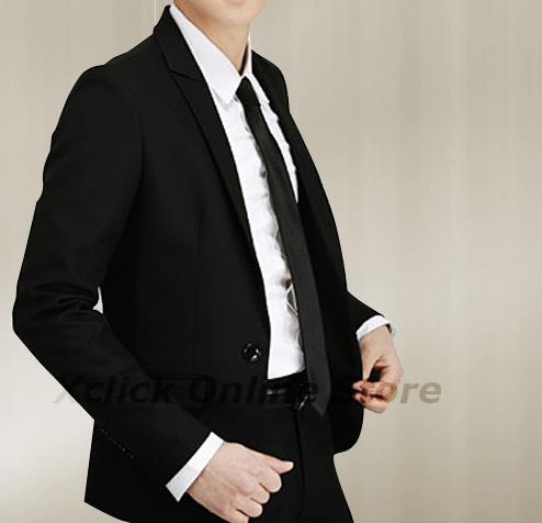 Men Coat- Korean men Slim coat