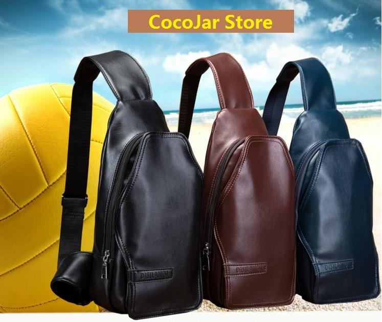 Men High Quality PU Leather Sling Ba (end 11/5/2017 3:38 PM)