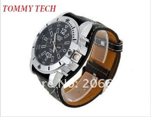 Men's Large Dial Wide Band Wrist Watch