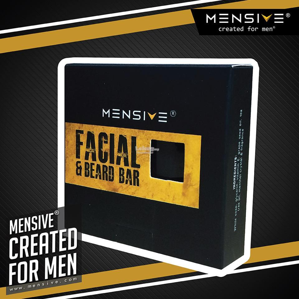 MENSIVE Facial & Beard Bar  (50 mg) ***FREE SHIPPING***