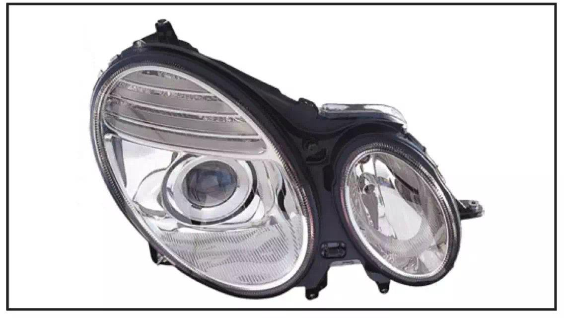 MERCEDES BENZ E-CLASS W211 2002 HEAD LAMP CRYSTAL PROJECTOR W/MOTOR