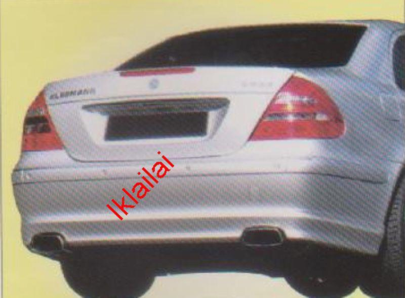 Mercedes Benz E-Class W211 REAR SKIRT