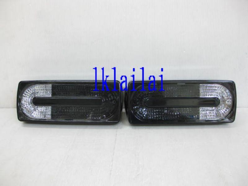 Mercedes Benz G Class W463 Crystal Tail Lamp Black [AMG Look]
