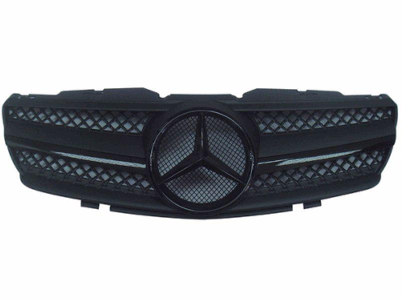 Mercedes Benz SL R230 `02-07 Front Grille SL Style Facelift Type All B
