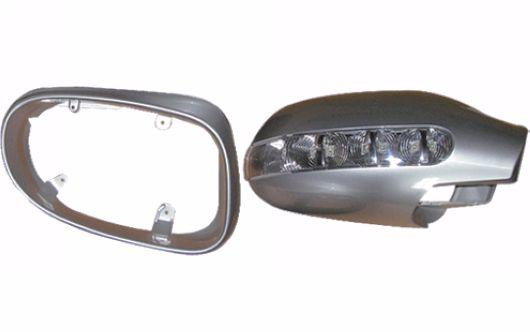 Mercedes Benz SLK R170 `96-02 Door Mirror Cover W/Silver Paint+Light