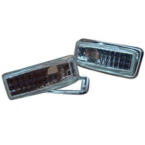 Mercedes Benz W124 `86-95 E-Class Side Lamp Crystal With Chrome Rim