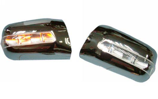 Mercedes Benz W140 `95 Door Mirror Cover W/ Light [Chrome/Painted]
