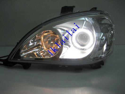 Mercedes Benz W163 `98-04 HEAD LAMP CCFL PROJECTOR+ VACUUM