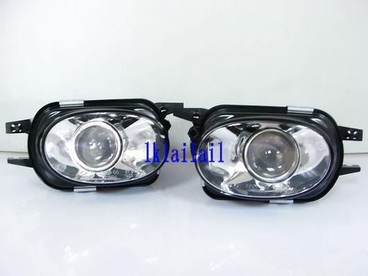 Mercedes Benz W203/W211 AMG Style Bumper Projector Fog Lamp Glass Lens
