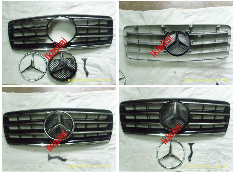 Mercedes Benz W210 `95 CL Sport Grille [White/Silver/Black/Chrome]W210