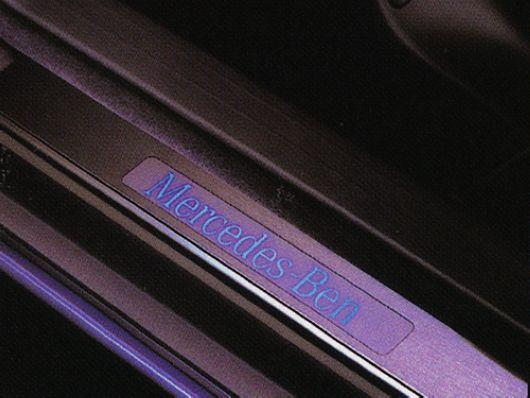 Mercedes Benz W220 `98 Door / Side Sill Plate LED [W220-DS01-U]