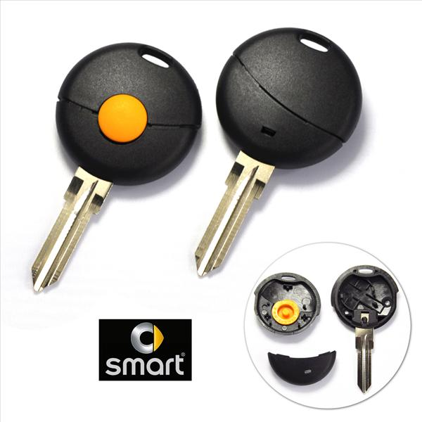 Mercedes SMART Fortwo Remote Key 1 Button Blank Shell