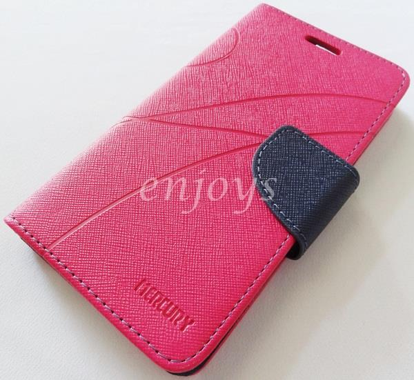 MERCURY Fancy Diary Book Case Cover Pouch Lenovo IdeaPhone A766 ~HP