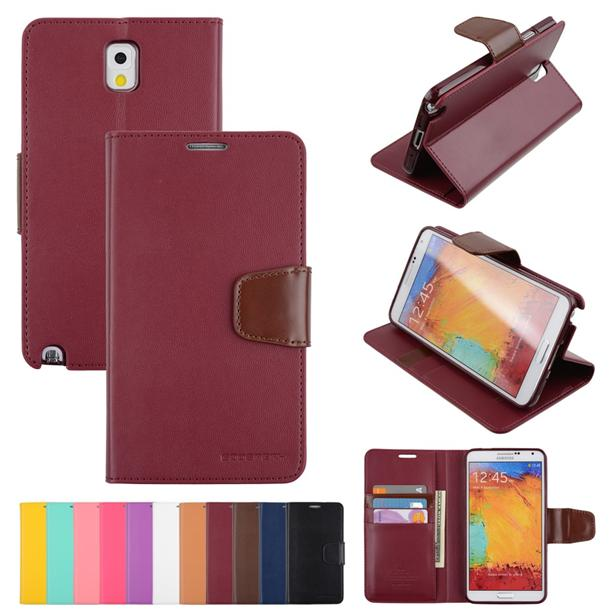 Mercury Sonata XiaoMi M3 M4 Mi3 Mi4 Wallet Leather Case