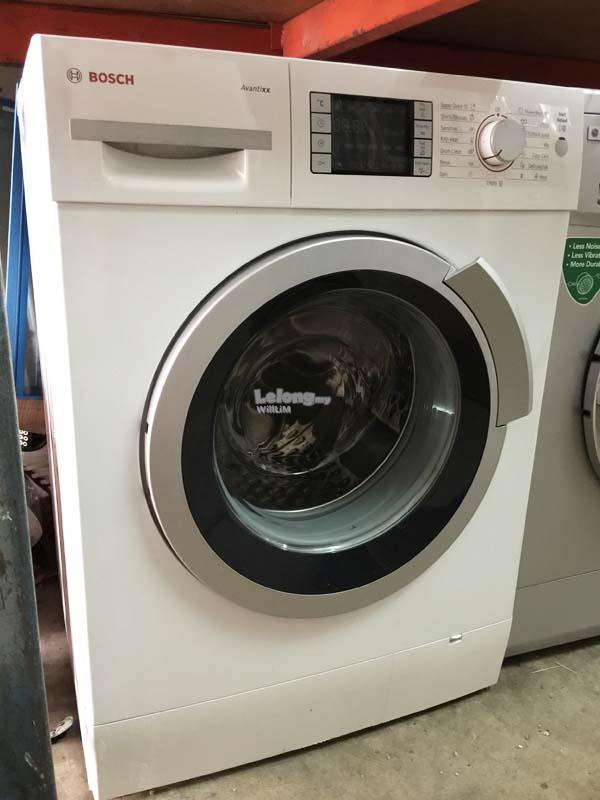 Mesin Basuh Bosch Front Automatic Washing Machine Refurbish Recond