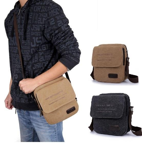 Messenger Bag Shoulder Bag Sling Bag Vintage Canvas Crossbody Bag