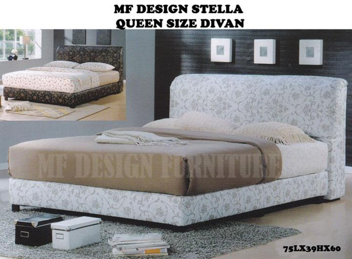 Mf design stella queen size end 10 4 2016 12 15 pm myt for Queen size divan