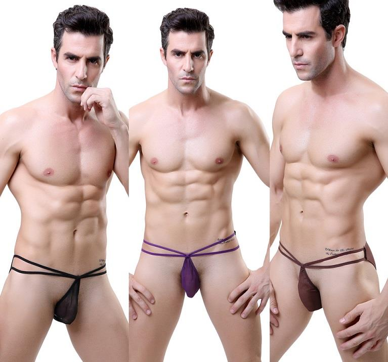 MG3010 Sexy Panties Sexy Underwear Man G-String (3 Colors)