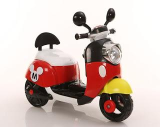 Mickey Mouse Electric Scooter