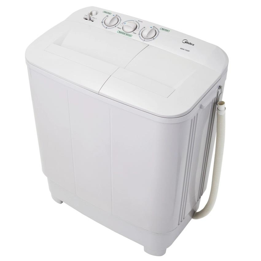 MIDEA 6kg Semi Auto Washing Machine MSW-6008P