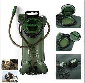 Military Green 3L Bicycle Big Mouth Sports Water Bladder Bag