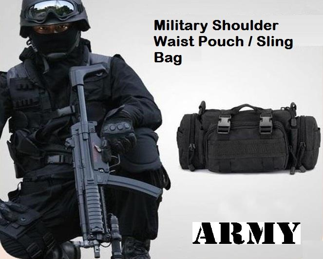 Military Shoulder Waist Pouch Sling (end 7/31/2018 11:00 PM)