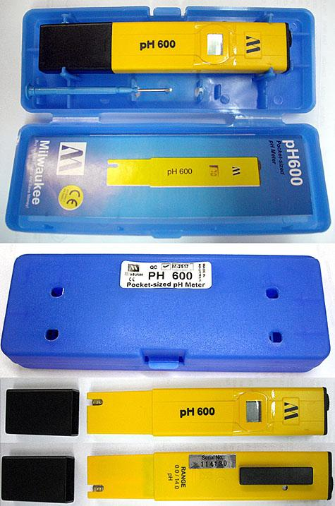 Milwaukee Digital PH Meter - PH600