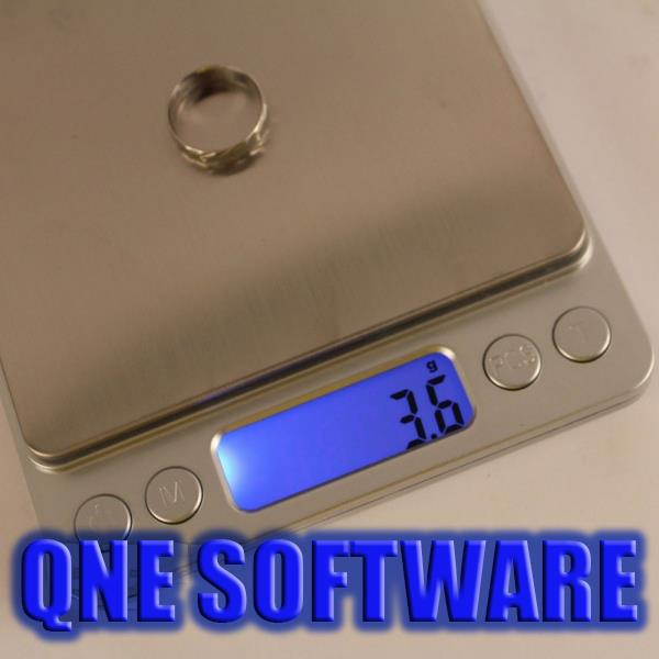 Mini Digital Stainless Steel Weighting Scale 3Kg x 0.1