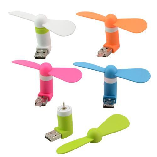 Mini Fan - USB and micro usb
