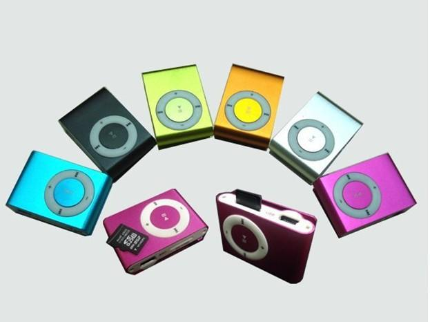 MINI Flash Gift clip MP3 Player with Clip free earphone