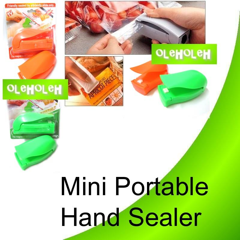 Mini Handy Portable Hand Sealer Plastic Bag Food Storage