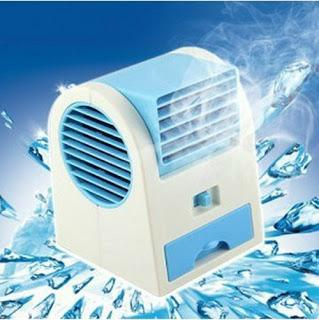 Mini Perfume Turbine Refresh Air Conditioning Fan